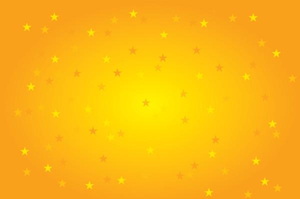 Free Yellow Stars Background Vector