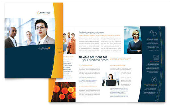 Free Brochure Template for Marketing