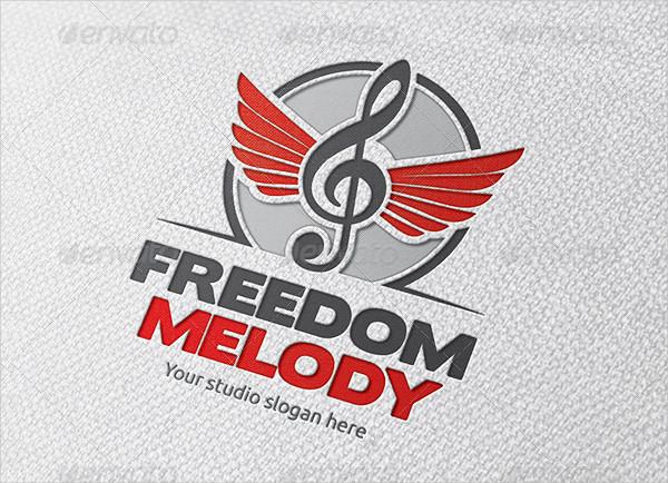 Freedom Music Logo Template