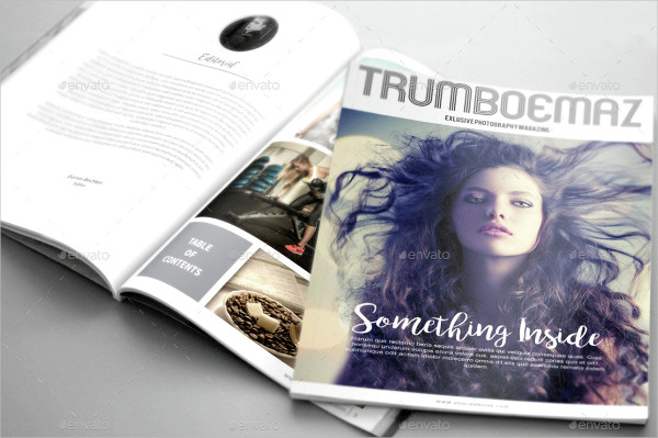Fresh Photography InDesign Magazine Template