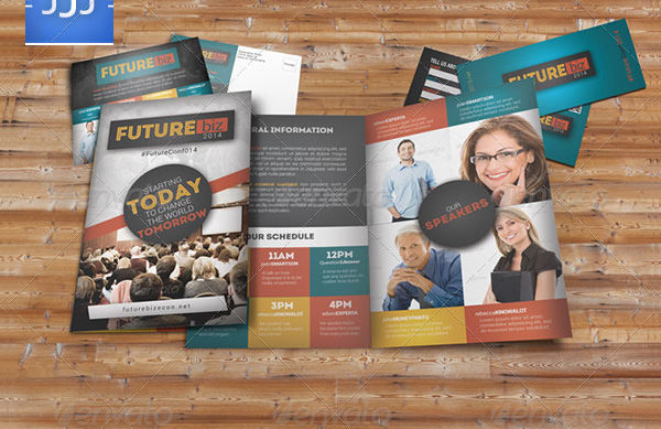 Future Conference Bifold Brochure