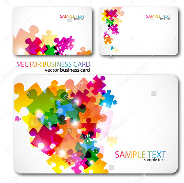 Colorful Gaming Business Cards Set