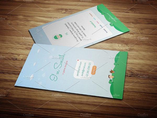 Game Designer Business Card Template