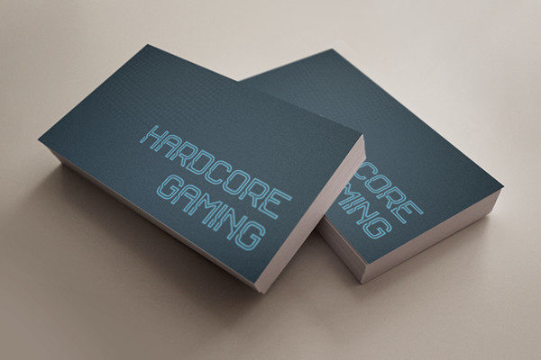 Hardcore Gaming Business Cards