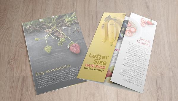 21+ Gatefold Brochure Mockup Templates - Free & Premium Download