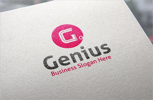 Genius Style Logo Template