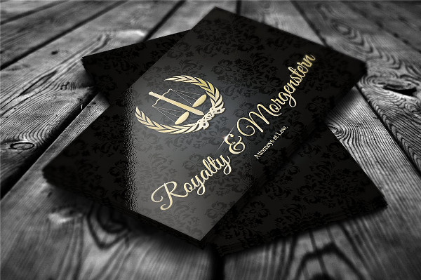 Golden Royalty Business Card Template