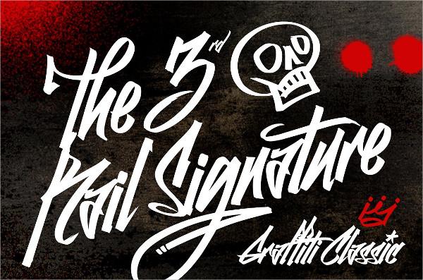 Graffiti Classic Font