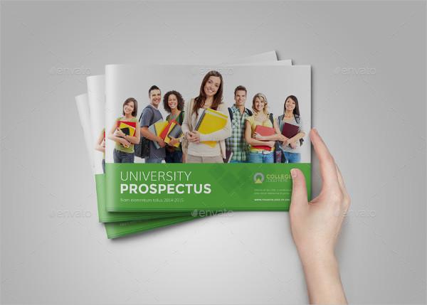 University Graphic Design Brochure Template