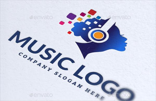 Popular Logo Template for Music Studio