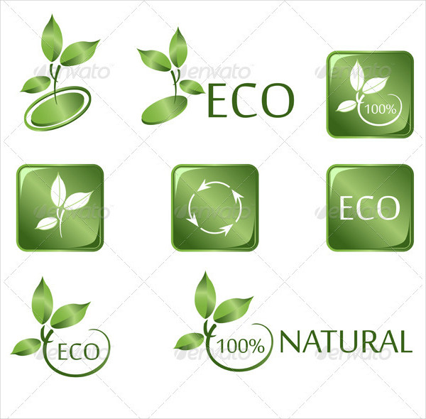 Green Eco Icon Collection