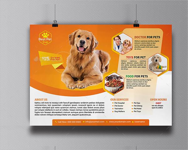 Customizable Pet Shop Flyer Templates