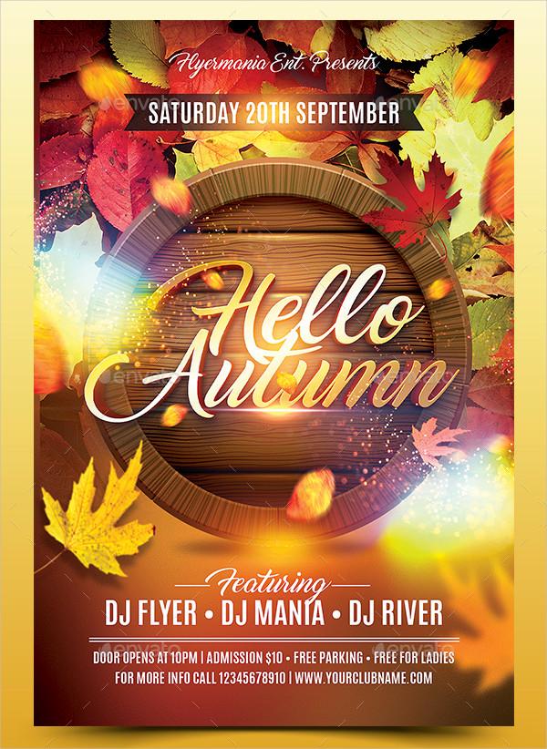 29 Autumn Flyer Templates Free Premium Download