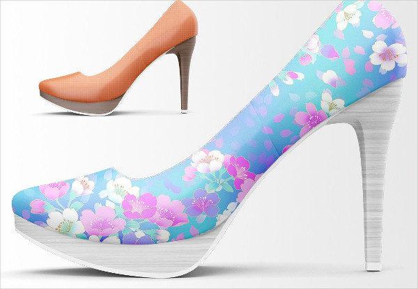 High Heels Shoes Mockup Bundle