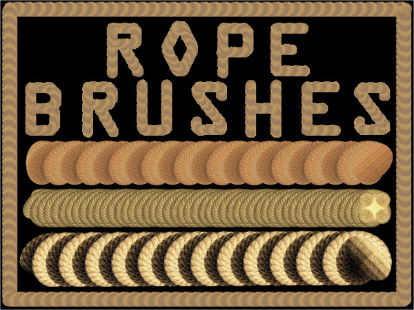 Rope High Resolution Brushes