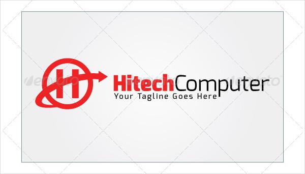 Hitech Computer Logo Template