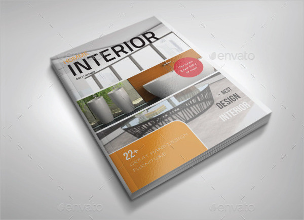 Best Interior Design Magazine Template