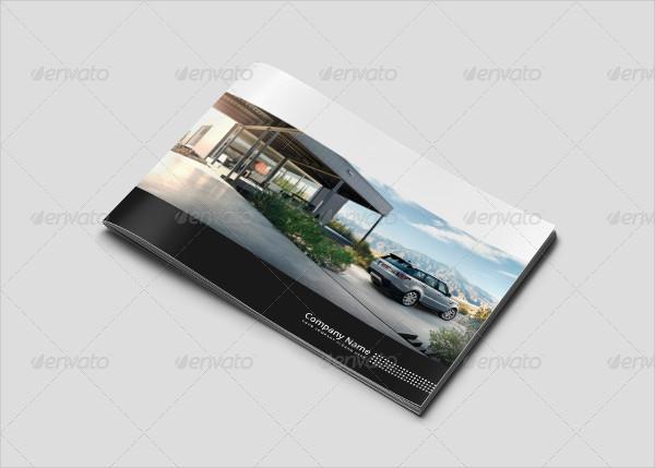Horizontal Car Showcase Brochure Template