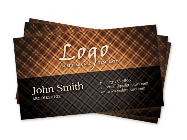 Hot Vintage Business Card Free PSD