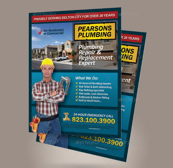 House Repair Expert Flyer Template