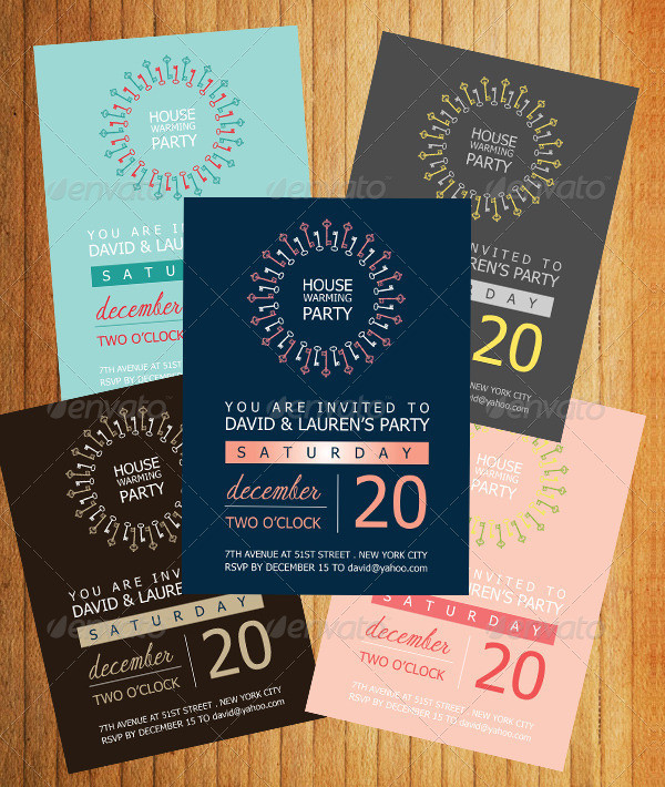 Housewarming Invitation Template 14 Free Premium Download