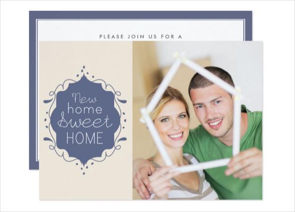 Housewarming Party Photo Invite