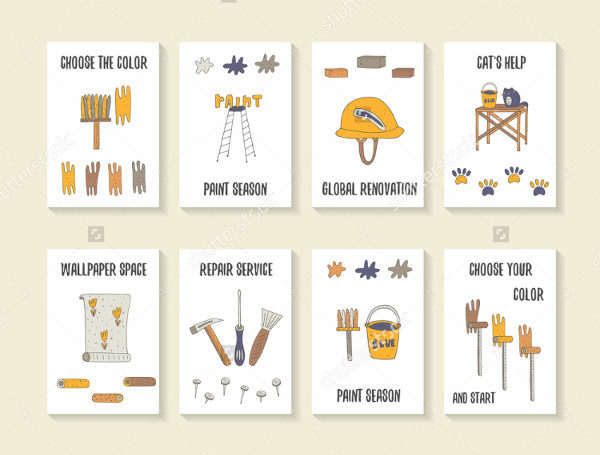House Repair Flyers Collection