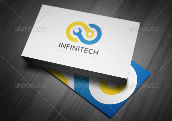 Infinity Logo Or Computer Tech Support Logo