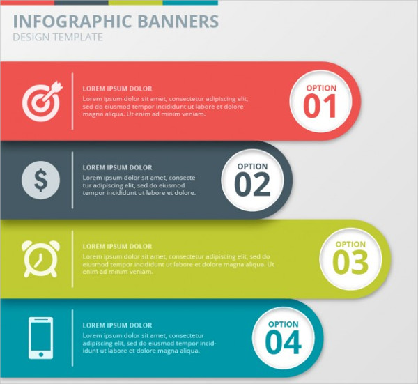 Infographics Presentation Banners Collection