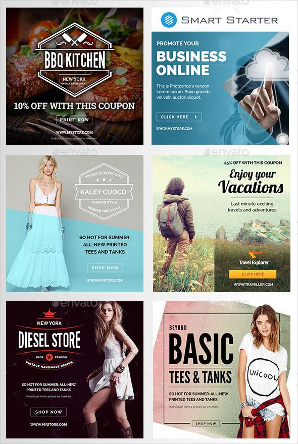 Instagram Marketing Banners