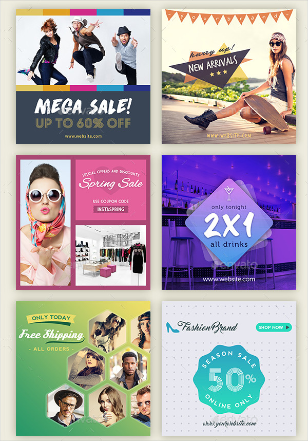 Best Instagram Promotion Banners