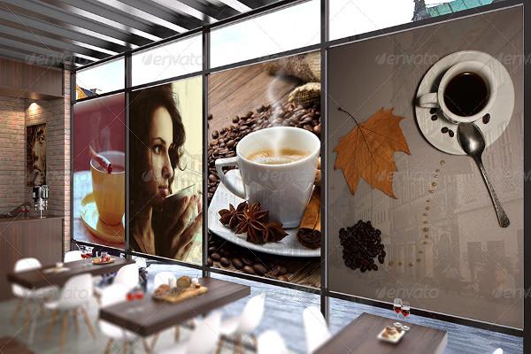 Interior Coffee Mockup