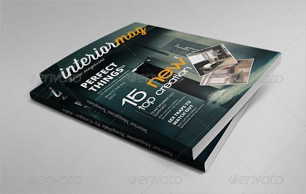 Clean Interior InDesign Magazine Template