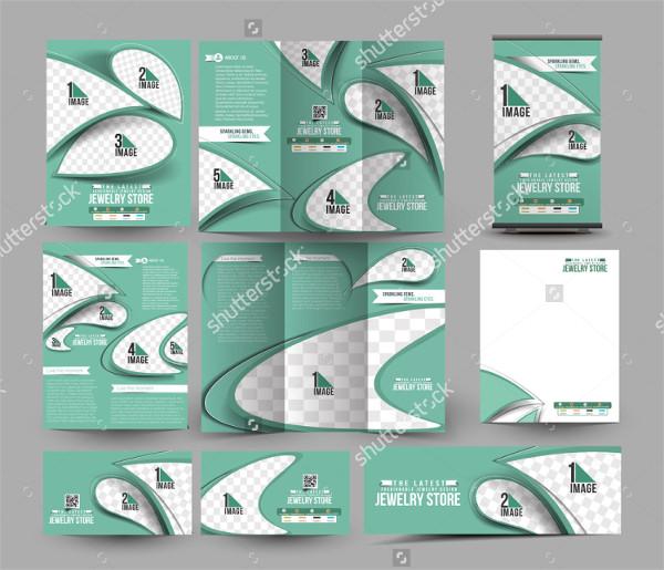 Jewelry Store Tri Fold Brochure Design