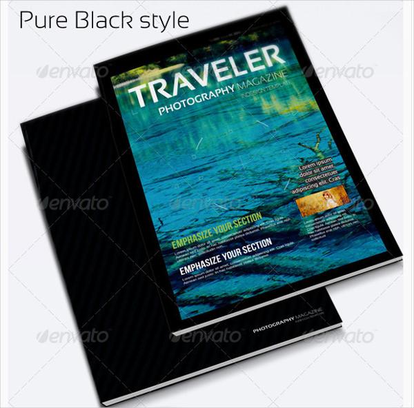 Landscape Traveler Photography Magazine Template