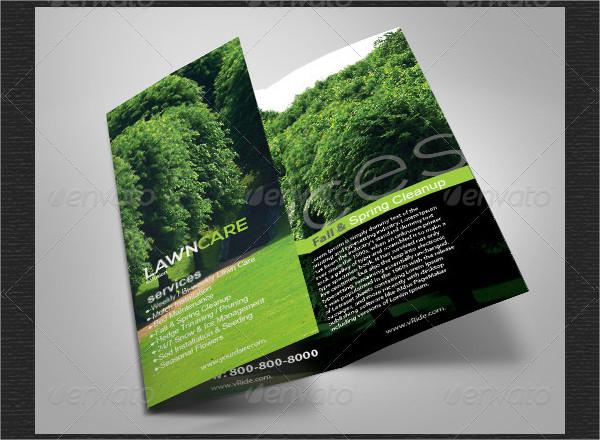 17  garden service brochure templates