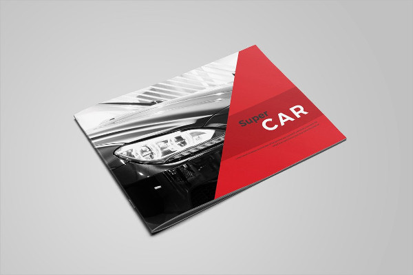 Luxury Car Business Promotion Brochure