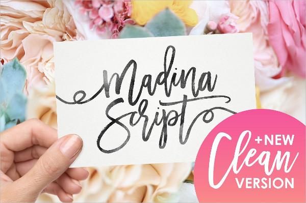 New Version Madina Script Font