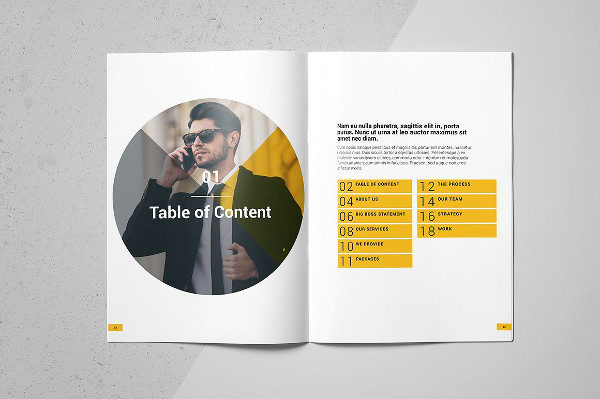Marketing InDesign Brochure Template