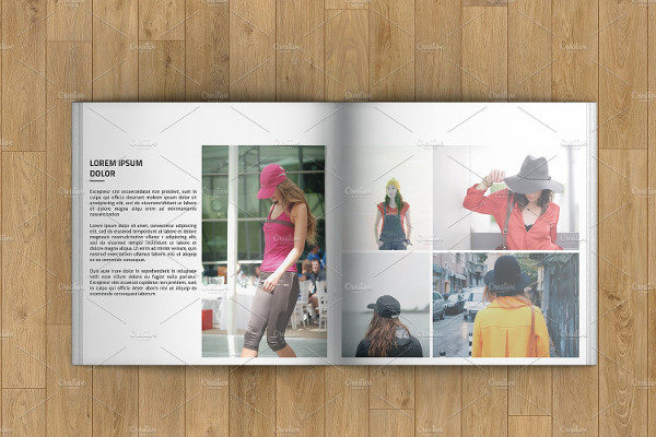 Printable Marketing Square Brochure