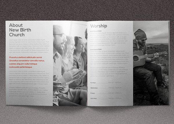 Marketng Church Brochure