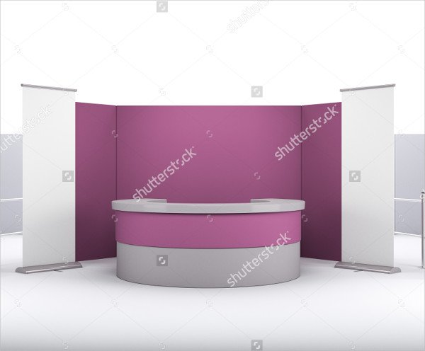 Exhibition Booth Mockup Psd : Booth mockups free psd ai eps vector format