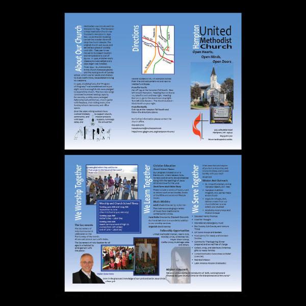 Methodist Church Informational Brochure