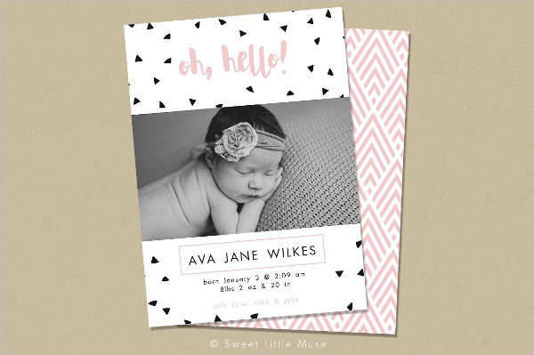 Birth Announcement Template - 23+ PSD, AI, EPS Format Download