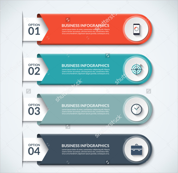 Modern Infographic Elements Vector Banner