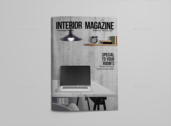 Modern Interior Products Magazine Template