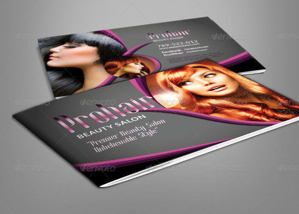 Modern Salon Brochure Template