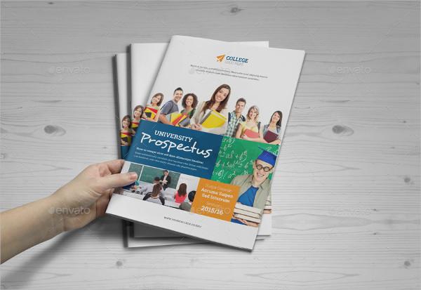 Popular University Brochure Template