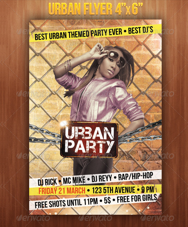 Modern Urban Party Flyer