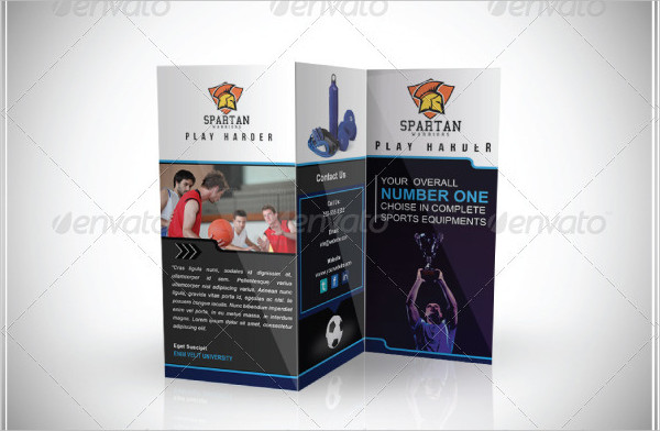 Unique Sports Brochure Template